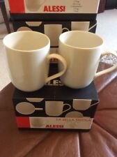 ALESSI 2 X LA BELLA TAVOLA MUGS NEW BOXED ❤️❤️