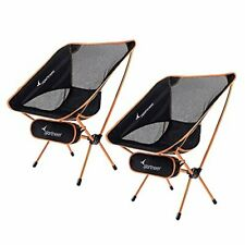 New listing Portable Lightweight Folding Camping Chair, 2-Pack for Backpacking,Hiking,Picnic