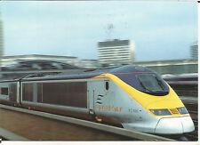 EUROSTAR TRAIN; from WATERLOO - 2001 VINTAGE P/M PARIS LA CHAPELLE BK2*