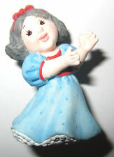 Hallmark Merry Miniatures Snow White In Blue Dress