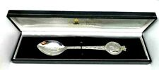 Rare Queen Elizabeth II Sterling Silver Spoon 80th Birthday Hallmark London 1977