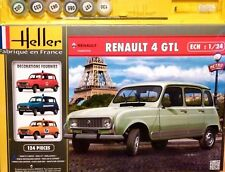Heller 1:24 Renault 4 GTL Car Gift Set Model Kit