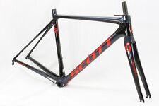 Scott Addict 10 RC 52cm Road Bike Frame in Blue/Orange (Repaired)