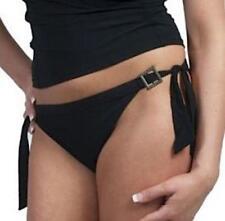 Panache Swimwear Sorrento Tie Side Bikini Pants SW0318 Size 16 Black  BNWT