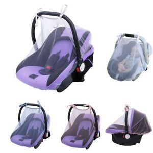 Safety Mosquito Net For Pushchair Cot Moses Basket Pram Carseat Stroller Buggy