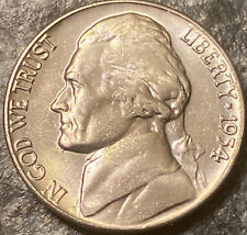 1954-D BU 5C Jefferson Nickel (R1)