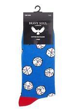 Herrensocken Socken bunt 40-46 Original Brave Soul Herren Happy Dice 2 Paar