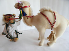 Steiff Christmas bear with dromedary camel IDs limited ed. stuffed animal 1654