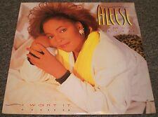 Aleese Simmons I Want It~1988 Soul Funk RnB Hip Hop Vinyl LP~FAST SHIP!