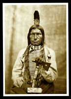 ⫸ 974 Postcard Low Dog, Oglala Sioux Chief – 1875  Photo David Barry, NEW
