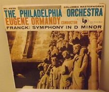 Eugene Ormandy Conducts The Philadelphia Orchestra - Franck: Symphony In D Minor
