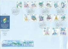 HONG KONG: 1999 Definitive stamps  on large illustrated Official First Day Cover