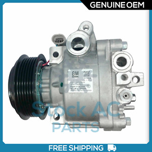 New OEM A/C Compressor fits Chevy Sonic, Trax / Buick Encore 1.4L - 2013 to 2019