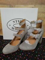 Steve Madden Veruca LT GREY SUEDE  Women's Heels Shoes Size: 8.5M NWB