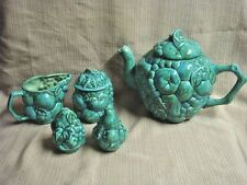 5 Pc Hand Crafted Fruit Design TEA HOSTESS SET 1974