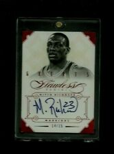 Mitch Richmond 2012-13 Flawless Greats RUBY Auto #/15! RARE Warriors SP! ON-CARD
