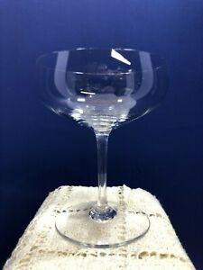 Baccarat Crystal Brummel Champagne Tall Sherbet Glasses - Coupe Crystal Stemware