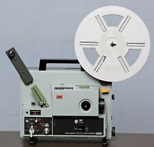 Elmo St-1200 Super 8 8mm Sound Movie Projector *Mint* #0815
