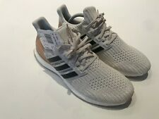Adidas Ultra Boost Prime Knit Trainers Cream Salmon Size UK 8 BNTW CI7956