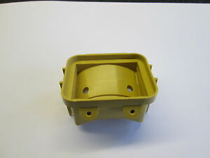 ROVER P6 2000/2200/3500 SERIES 2, REAR WING REFLECTOR MOUNTING HOUSING
