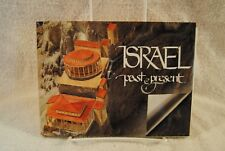 Israel Past & Present w Transparent Overlays Then & Now 1998 Bahat Holy Land
