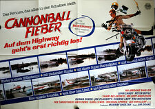 Speed Zone Cannonball Fieber German movie poster A0 quad John Candy, Donna Dixon