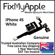 iPhone 4S OEM Original White Headphone Audio Jack Volume Flex Cable Replacement
