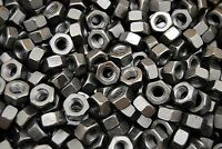 (100) Structural DH Heavy Hex Nuts 1/2-13 Coarse Thread Plain ASTM A563