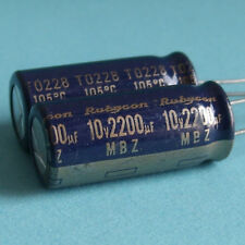 Rubycon 10V 2200uF Low-ESR Electrolytic Capacitor x5pcs