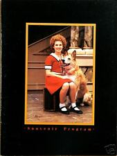 ANNIE THE MUSICAL SOUVENIR PROGRAM - HEATHER SOROKA