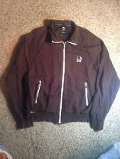 Marc Ecko Cut & Sew Brown Zippered Jacket Size Large. Ked