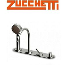 Zucchetti Isycontract ZP1157.G1 Single Lever Swivel Spout Bath Mixer+Pull-out HS