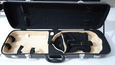 Carbon fiber violin case,fine workmanship 4/4