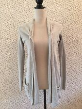 Berretti Made In Italy Grey Swing Cardigan. Size Small.