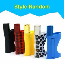 Mini Pollen Press Compressor Tobacco Pipe All in One Lighter Secret Smokeless 1