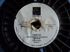 CARDAS 60' FOOT REEL 18.5 GAUGE CARDAS GOLDEN SECTION STRANDING LITZ WIRE BLUE