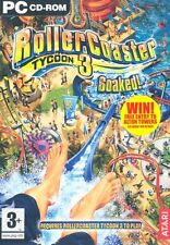 Rollercoaster Tycoon 3: Soaked! Expansion Pack (PC CD)
