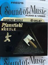 "Pfanstiehl 595-D7 ""Diamond"" Needle Stylus 595d7 Philips GP400 401"
