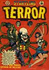 Startling Terror Tales 11 Comic Book Cover Art Giclee Reproduction on Canvas