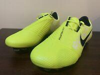 Nike Phantom Venom Elite FG Soccer Cleats Volt ACC AO7540-717 Men's Size 10