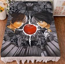 Anime DEATH NOTE Aizawa Shuichi Cosplay Otaku Flat Bed Sheet Blanket Bedding Hot