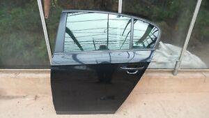 VW PASSAT B7 (2010-14) PASSENGER SIDE REAR DOOR - LOCKS & REG, ETC - LC9Z BLACK