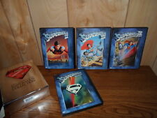 Complete SUPERMAN Collection (DVD, 2001, 4-Disc Set)~Movie,I,II,III,REEVES~Nice!