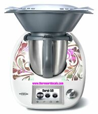 Thermomix TM5 Sticker Decal  (Code: Floral 59)