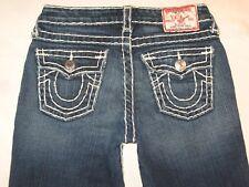 True Religion Jeans Billy Super T Bootcut Distressed Wash Little Girls Sz 12