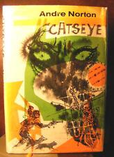 Catseye by Andre Norton (1961, Hardback) HC.DJ.1st. Signed Ed. Very Good Minus