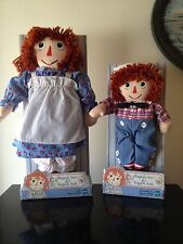 HASBRO NEW RAGGEDY ANN & RAGGEDY ANDY DOLLS (2000) JOHNNY GRUELLE