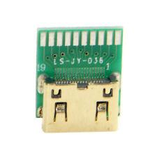 10pcs Mini HDMI 1.4 Type-C Female Socket Receptacle Board Mount SMT Type PCB