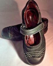 Kenneth Cole Black Leather MaryJanes School Shoes NIB Youth Girls Size 3 M