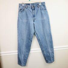 Vintage 90s Levi's Orange Tab 921 Tapered Leg Hi Waist Jeans Women's Sz 14 Short